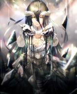artist:so-bin character:albedo character:albedo_(overlord) copyright:overlord copyright:overlord_(maruyama) general:1girl general:arms_up general:black_hair general:breasts general:choker general:dress general:female general:gloves general:hair_between_eyes general:horns general:long_hair general:medium_breasts general:solo general:white_gloves general:wings general:yellow_eyes medium:high_resolution medium:lossy-lossless medium:novel_illustration medium:official_art medium:scan studio:enterbrain technical:grabber // 1916x2329 // 2.4MB