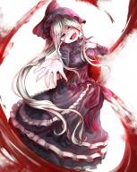 character:shalltear_bloodfallen copyright:overlord_(maruyama) general:1girl general:bonnet general:bow general:dress general:female general:gothic_lolita general:lolita_fashion general:long_hair general:red_eyes general:silver_hair general:solo general:user_kae4542 medium:high_resolution medium:very_high_resolution tagme technical:grabber // 2048x2560 // 4.5MB