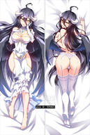 artist:bakugadou character:albedo copyright:overlord_(maruyama) general:1girl general:ahoge general:ass general:barefoot general:black_hair general:breasts general:dakimakura general:demon_girl general:demon_horns general:dress general:elbow_gloves general:from_above general:full_body general:garter_belt general:gloves general:hair_between_eyes general:hip_vent general:horns general:large_breasts general:long_hair general:looking_at_viewer general:low_wings general:lying general:multiple_views general:on_back general:on_stomach general:panties general:seductive_smile general:self_fondle general:smile general:thighhighs general:thong general:underwear general:very_long_hair general:white_gloves general:white_legwear general:white_panties general:wings general:yellow_eyes technical:grabber // 539x800 // 368.9KB