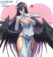 artist:gtunver character:albedo copyright:overlord_(maruyama) general:1girl general:female general:female_only general:fully_clothed general:horns general:long_hair general:purple_hair general:solo general:very_long_hair general:wings general:yellow_eyes metadata:2015 metadata:tagme tagme technical:grabber // 861x928 // 183.3KB