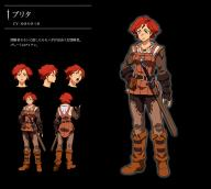 artist:yoshimatsu_takahiro character:brita copyright:overlord_(maruyama) general:1girl general:back general:biceps general:boots general:character_sheet general:concept_art general:mole general:muscle general:red_hair general:short_hair general:sword general:weapon meta:official_art tagme technical:grabber // 1126x1014 // 498.7KB