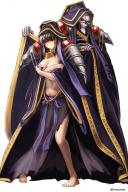artist:aken character:ainz_ooal_gown character:narberal_gamma copyright:overlord_(maruyama) general:1boy general:1girl general:barefoot general:black_hair general:blush general:covering general:covering_breasts general:feet general:female general:full_body general:hair_over_eyes general:hood general:male general:shoulder_pads general:skull general:standing medium:cosplay medium:high_resolution meta:potential_duplicate technical:grabber // 1080x1619 // 1.3MB