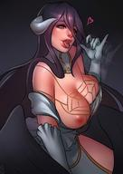 artist:nat_the_lich character:albedo copyright:overlord_(maruyama) general:1girl general:black_hair general:breast_slip general:breasts general:cleavage general:demon_girl general:demon_horns general:detached_collar general:elbow_gloves general:eyelashes general:fellatio_gesture general:female general:gloves general:hair_between_eyes general:heart general:hip_vent general:horns general:large_breasts general:lips general:long_hair general:looking_at_viewer general:low_wings general:motion_blur general:naughty_face general:nipples general:one_breast_out_of_clothes general:pinky_out general:sexually_suggestive general:slit_pupils general:solo general:tongue general:tongue_out general:white_gloves general:wings general:yellow_eyes medium:high_resolution medium:very_high_resolution meta:bad_id meta:bad_twitter_id technical:grabber // 2480x3507 // 517.5KB