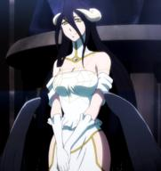character:albedo copyright:overlord_(maruyama) general:1girl general:bare_shoulders general:black_hair general:breasts general:cleavage general:demon general:demon_girl general:dress general:female general:gloves general:hip_vent general:horns general:large_breasts general:long_hair general:looking_at_viewer general:purple_hair general:solo general:succubus general:wings general:yellow_eyes metadata:highres metadata:screencap metadata:stitched metadata:third-party_edit technical:grabber // 1904x2024 // 2.4MB