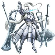 technical:grabber unknown:Armor unknown:Solo unknown:floating unknown:full_body unknown:hammer unknown:long_sword unknown:official_art unknown:overlord_(maruyama) unknown:platinum_dragon_lord unknown:polearm unknown:spear unknown:sword unknown:transparent_background unknown:weapon // 1024x1024 // 293.4KB