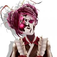 character:entoma_vasilissa_zeta copyright:overlord_(maruyama) general:1girl general:cracked_mask general:head_tilt general:insect_girl general:japanese_clothes general:kimono general:looking_at_viewer general:maid general:mask general:monster_girl general:purple_hair general:red_eyes general:simple_background general:white_background tagme technical:grabber // 800x800 // 382.9KB
