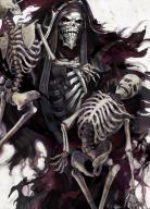 character:ainz_ooal_gown copyright:overlord_(maruyama) general:1boy general:black_robe general:black_sclera general:creepy general:death general:hood general:hood_up general:horocca general:horror general:horror_(theme) general:looking_at_viewer general:magic general:male general:necromancer general:red_eyes general:ribs general:robe general:skeleton general:skull technical:grabber // 612x850 // 969.5KB