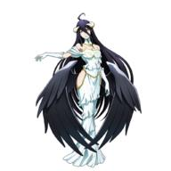 character:albedo technical:grabber unknown:1girl unknown:ahoge unknown:bare_shoulders unknown:black_hair unknown:black_wings unknown:breasts unknown:character_sheet unknown:cleavage unknown:demon_girl unknown:detached_collar unknown:dress unknown:expressions unknown:female_focus unknown:full_body unknown:gloves unknown:hip_vent unknown:horns unknown:large_breasts unknown:long_hair unknown:long_legs unknown:low_wings unknown:multiple_views unknown:off-shoulder_dress unknown:off_shoulder unknown:official_art unknown:overlord_(maruyama) unknown:simple_background unknown:smile unknown:very_long_hair unknown:white_background unknown:white_dress unknown:white_gloves unknown:wings unknown:yellow_eyes // 1024x1024 // 457.4KB