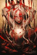 artist:so-bin character:shalltear_bloodfallen copyright:overlord_(maruyama) general:1girl general:blood general:blood_on_face general:looking_at_viewer general:red_eyes general:silver_hair general:tongue general:tongue_out general:vampire meta:highres meta:official_art technical:grabber // 1168x1743 // 257.8KB