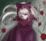 character:shalltear_bloodfallen copyright:overlord_(maruyama) general:1girl general:bonnet general:bow general:dress general:fangs general:female general:gothic_lolita general:lolita_fashion general:long_hair general:ray999n general:red_eyes general:silver_hair general:smile general:solo general:vampire medium:high_resolution medium:very_high_resolution tagme technical:grabber // 3388x3016 // 3.8MB